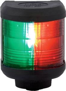 Aquasignal 40 2-farvet stb/bb Sort 12V