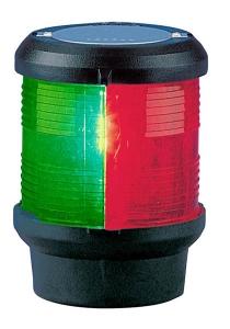 Aquasignal 40 3farvet Sort 12V
