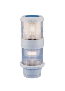 Aquasignal 40 top/anker Hvid 12V