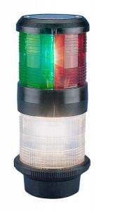 Aquasignal 40 anker/3farvet Sort 12V