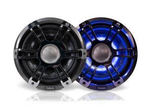 Fusion 8.8 Højtaler m. Chrome grill+ LED
