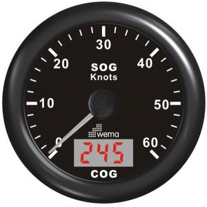 Wema Spedometer 60 kn STD SS