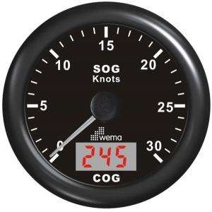 Wema Spedometer 30 kn STD SS