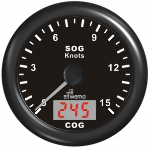 Wema Spedometer 15 kn STD SS