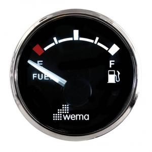 Wema Brændstof instrument Sort RF
