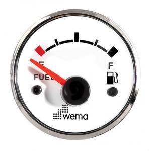 Wema Brændstof instrument Hvidt RF