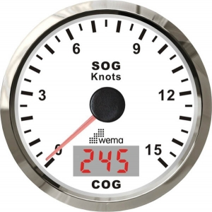 Wema Spedometer 15 kn HVID RF
