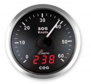 Wema Spedometer 60 kn SORT RF