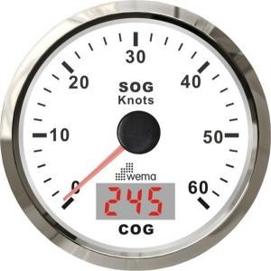 Wema Spedometer 60 kn HVID RF