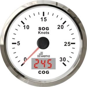 Wema Spedometer 30 kn HVID RF