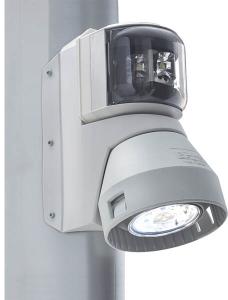 Aquasignal 43 top/dækslys Hvid 12/24V