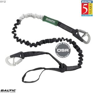 Livline 2 krog + loop elastisk Sort BALTIC 0112