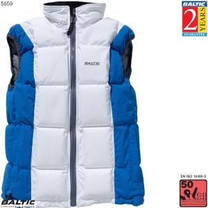 Surf & Turf Trend Dame flydevest-Hvid/Turkis-Small-82-90 cm. bryst