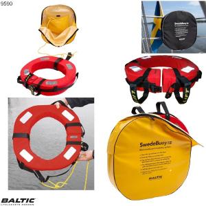 Swedebuoy redningskrans Gul BALTIC 9590