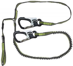 Spinlock Letvægt Livline 2 hager, 1 loop, 2 m elas