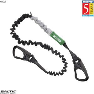 Livline Supreme 2 krog elastisk Sort BALTIC 0132