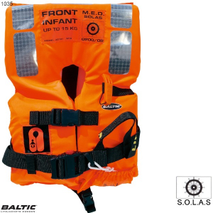 SOLAS 2010 Infant Std 0-15 Orange BALTIC 1035