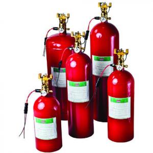 Sea-Fire NFG200m automatisk / manuel brandslukker for 5,7m3 motorrum