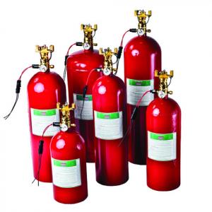Sea-Fire NFG75A automatisk brandslukker for 2,1m3 motorrum