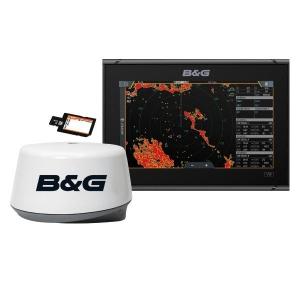 B&G Vulcan 9 m/3g radar og søkort